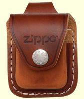 Чехол для зажигалок Zippo (коричневый, с петлей на ремень)