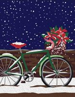 "Картина по номерам ""Велосипед"" (165х130 мм)"