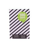 """Планер """"100 Days"""" (А5; зеленый)"""