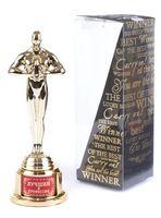 """Статуэтка пластмассовая """"Оскар. Лучший в профессии"""" (66х63х185 мм)"""