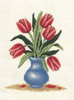 """Вышивка крестом """"Букет тюльпанов"""""""