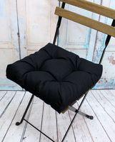 """Подушка на стул """"Monochrome"""" (40х40 см; черная)"""