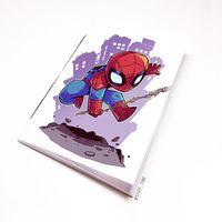 "Блокнот белый ""Человек-паук"" А5 (898)"