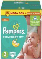 """Подгузники """"Active Baby-Dry Midi"""" (5-9 кг, 174 шт)"""