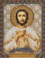 """Вышивка бисером """"Святой Алексий. Человек Божий"""""""