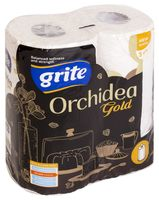 """Бумажные полотенца """"Orchidea Gold"""" (2 рулона; белые)"""