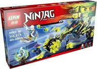 "Конструктор Ninja Go ""Засада на мотоцикле"""