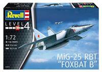 """Сборная модель """"Истребитель-перехватчик MiG-25 RBT """"Foxbat B"""" (масштаб: 1/72)"""