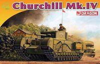 """Тяжелый танк """"British Churchill Mk. IV"""" (масштаб: 1/72)"""