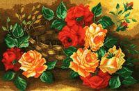 """Вышивка крестом """"Розы"""" (арт. 848)"""