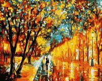"""Картина по номерам """"Вечерняя прогулка"""" (400x500 мм)"""