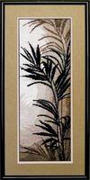 """Вышивка крестом """"Триптих. Пальмовые листья"""""""