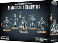 Warhammer 40.000. Thousand Sons. Scarab Occult Terminators (43-36)