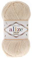 "Пряжа ""ALIZE. Cotton Gold Hobby №67"" (50 г; 165 м; молочно-бежевый)"