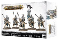 Warhammer Age of Sigmar. Ossiarch Bonereapers. Kavalos Deathriders (94-27)