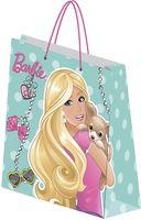 """Пакет бумажный подарочный """"Barbie"""" (18х21х8,5 см; арт. BRAA-UG1-1821-Bg)"""