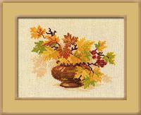 """Вышивка крестом """"Осенний букет"""" (арт. 769)"""