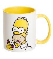 """Кружка """"Симпсоны. Гомер"""" (желтая; арт. 0001)"""