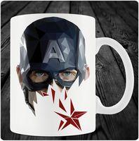 """Кружка """"Капитан Америка"""" (art.9)"""