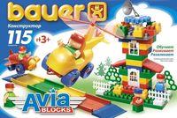 "Конструктор ""Avia Blocks"" (115 деталей; арт. 245)"