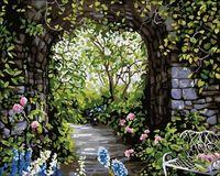 """Картина по номерам """"Цветущий сад"""" (400x500 мм; арт. MG015)"""