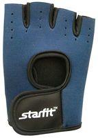 Перчатки для фитнеса SU-107 (р.M; темно-синие/черные)