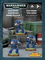 Warhammer 40.000. Space Marines (35-25)