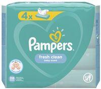 """Влажные салфетки детские """"Pampers Fresh Clean"""" (208 шт.)"""