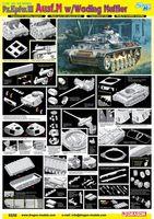 """Средний танк """"Pz.Kpfw.III Ausf.M w/Wading Muffler"""" (масштаб: 1/35)"""