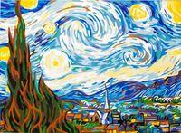 "Картина по номерам ""Ван Гог. Звездная ночь"" (400x500 мм; арт. MG124)"