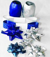 """Подарочный набор """"Clairefontaine"""" (цвет: серебро, синий)"""