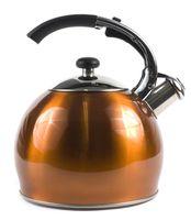 Чайник металлический со свистком (3 л; арт. GS-0434BY-Or)