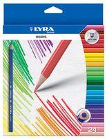 """Цветные карандаши """"OSIRIS"""" (24 цвета)"""