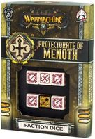 "Набор кубиков ""Warmachine Protectorate of Menoth Faction"" (6 шт.; бежево-красный)"