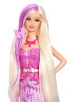 """Кукла """"Барби. Игра с модой"""" (c аксессуарами для волос)"""