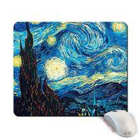 """Коврик для мыши большой """"Ван Гог. Звездная ночь"""" (арт. 387)"""