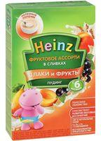 """Детский пудинг Heinz Baby """"Фруктовое ассорти в сливках"""" (200 г)"""