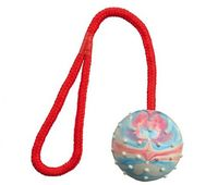 """Игрушка для собаки """"Мячик на веревке"""" (30 см; арт. 3305)"""