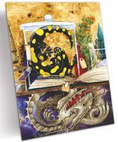 "Открытка ""Стол волшебника Мерлина"" (арт. 0223)"