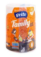 """Бумажные полотенца """"Family XL"""" (2 слоя; белые)"""