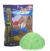 """Кинетический песок """"Motion Sand"""" (зелёный; 0,5 кг)"""