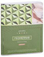 """Тетрадь полуобщая в клетку """"Новый век. Геометрия"""" (48 листов)"""