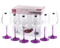"""Бокал для вина стеклянный """"Viola"""" (6 шт.; 450 мл; арт. 40729/D4834/450)"""