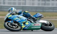 "Мотоцикл ""Honda RC211V 2003 Team Movistar"" (масштаб: 1/9)"