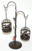 Подсвечник металлический (200х100х290 мм)