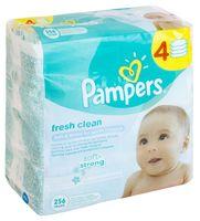 """Влажные салфетки детские """"Pampers Baby Fresh"""" (256 шт.)"""