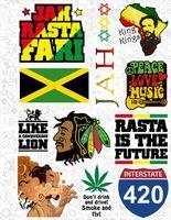 """Набор наклеек №32 """"Reggae"""""""