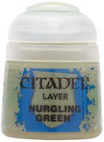 """Краска акриловая """"Citadel Layer"""" (nurgling green; 12 мл)"""