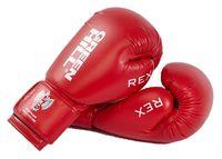 Перчатки боксерские REX BGR-2272 (10 унций; красные)
