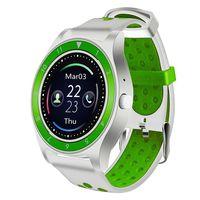 Фитнес-часы D&A F010 (бело-зеленые)